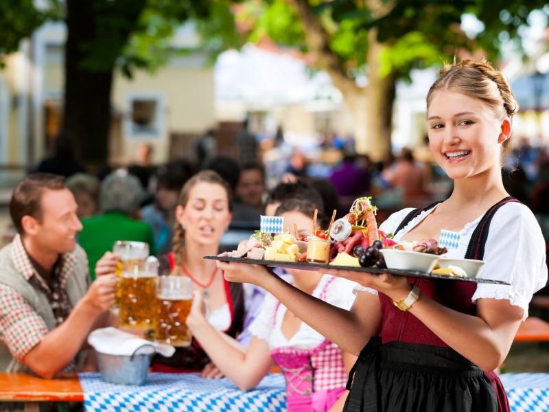 Biergarten in Schönau - Kohlhiasl